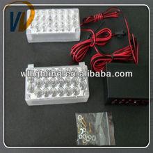 4 4LED 2X 22Led Car LED Bulbs Flash Strobe Light 12V