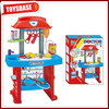 Plastic funny realistic kids doctor play set