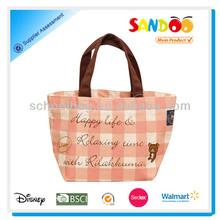 2014 manufacturer woman canvas designer handbag bag