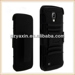 Case for samsung i9295 galaxy s4 active,Shell holster 3 in 1 case clip fit for samsung phones galaxy s4 active i9295 i537