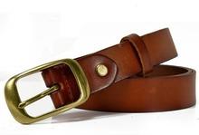 Men's designer belts for cloth camel color wholesale