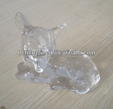 glass sika deer decoration/ hot selling products