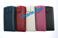 Flip Leather Case for Huawei P6 Ascend