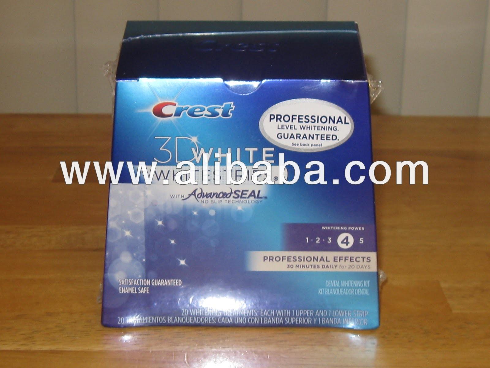Crest 3D White Whitestrips Professional Effects, Enamel Safe 20 ct