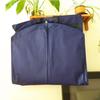 Hot! new design promotional elegant 75gsm non woven suit carry bag