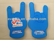 Promotionalcustom number one fan foam finger