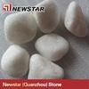 Tumbled Snow White Marble Pebbles