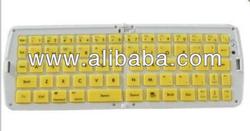 Bluetooth Folding Keyboard for Galaxy Tab iPhone iPad Tablet PC