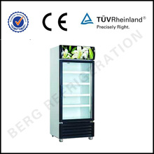 Best selling energy drink refrigerators coca cola display with led light