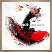 Popular handmade home decor fashionable painting manufacturer