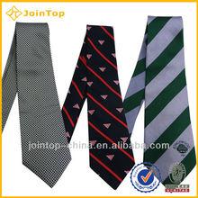 silk logo printed tie fine silk tie