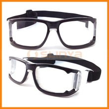 Anti-UV Sports Basketball Goggles for Unisex Rerectangular Frame