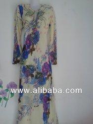 New Chiffon Baju kurung model 2013