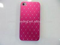 Babysbreath Bling Diamond Metal Case for iPhone 4