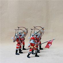 custom plastic roman toy soldiers;custom pvc roman toy soldiers