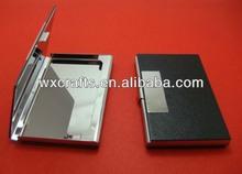 aluminum business credit card holder case wallet
