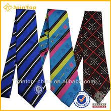 designer fine silk tie mens fashion 100% silk zipper ties