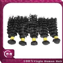 alibaba express 100% human brazilian hair deep wave brazilian hair virgin export china