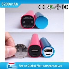 cylinder Stick cell phone portable charger