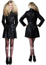 Fashion letaher ladies dress