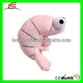 Le h1882 doggles brinquedo do gato sushi camarão / camarão rosa de brinquedo de pelúcia