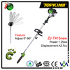 43cc long handle gas garden tools pole chain saw