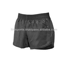 Nylon spandex women gym yoga shorts ,gym short