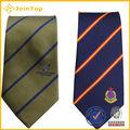 Jt-t715 di alta qualità di vendita calda poliestere lavabile in lavatrice cravatta