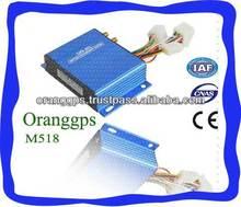 Oranggps mini gps multi-functional tracker M518 for car, bus, truck...