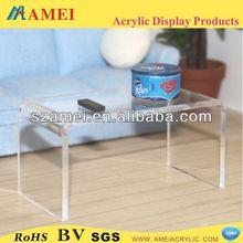 Custom made clear acrylic table legs