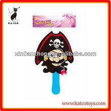 Outdoor toy pirate jokari paddle ball game KAT118924