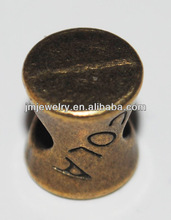 Big hole for metal chunky beads jewelry accessory for DIY