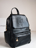 GF-J154 2013 Winter Fashion Black Leather Backpack for Girls