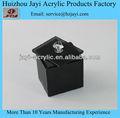 Custom eco- amigável baratos vasilha de vidro, caixinha de acrílico