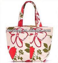 designer handbag flower casual style simple hand bag for women