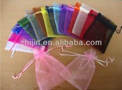 customized drawstring mesh gift bag