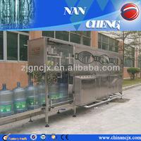 CE, TUV!! Zhangjiagang automatic 5 gallon bottle washing machine