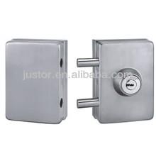 SUS304 glass door lock with computer keys