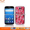 Flower Plating Plastic Handphone Casing for Samsung S4