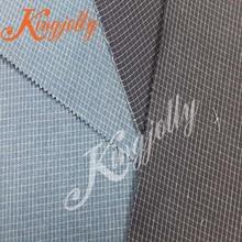 cotton yarn dyed check indigo blue and white gingham fabric jiangsu