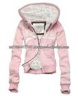 High Quality Fleece Jackets For Women Pink Hoodie Jacket