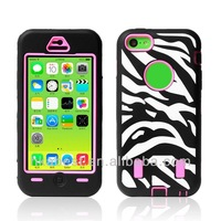 Robot Camo Combo Robot defender hard case for iphone 5c, hard case hot selling cool phone cover cases