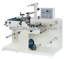 blank label die cutter slitting machine