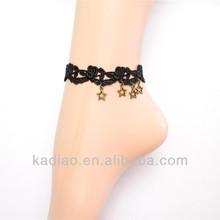 Yueya Japanese harajuku gothic style restoring ancient ways of bud silk women's ankles