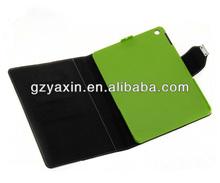 Elegant Style Cover Folio Leather Phone Case for ipad 5