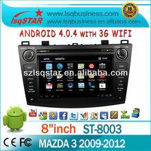 LSQ Star Cheap Stereo Car For Mazda 3 2009-2012
