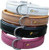 2014 Lined Bridle leather Dog Collar