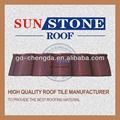 de plástico de pvc del techo del azulejo de acero pintado de techos de placas para techos de teja de los precios