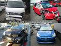 une grande variété de voitures endommagées à vendre au japon à bas prix