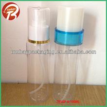 100ml PET plastic bottles of toiletries 100ml plastic spray bottle plastic pump soap bottleTBSGP-6-100ml